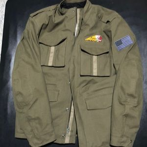 Other - Indian motorcycle military jacket Sz large